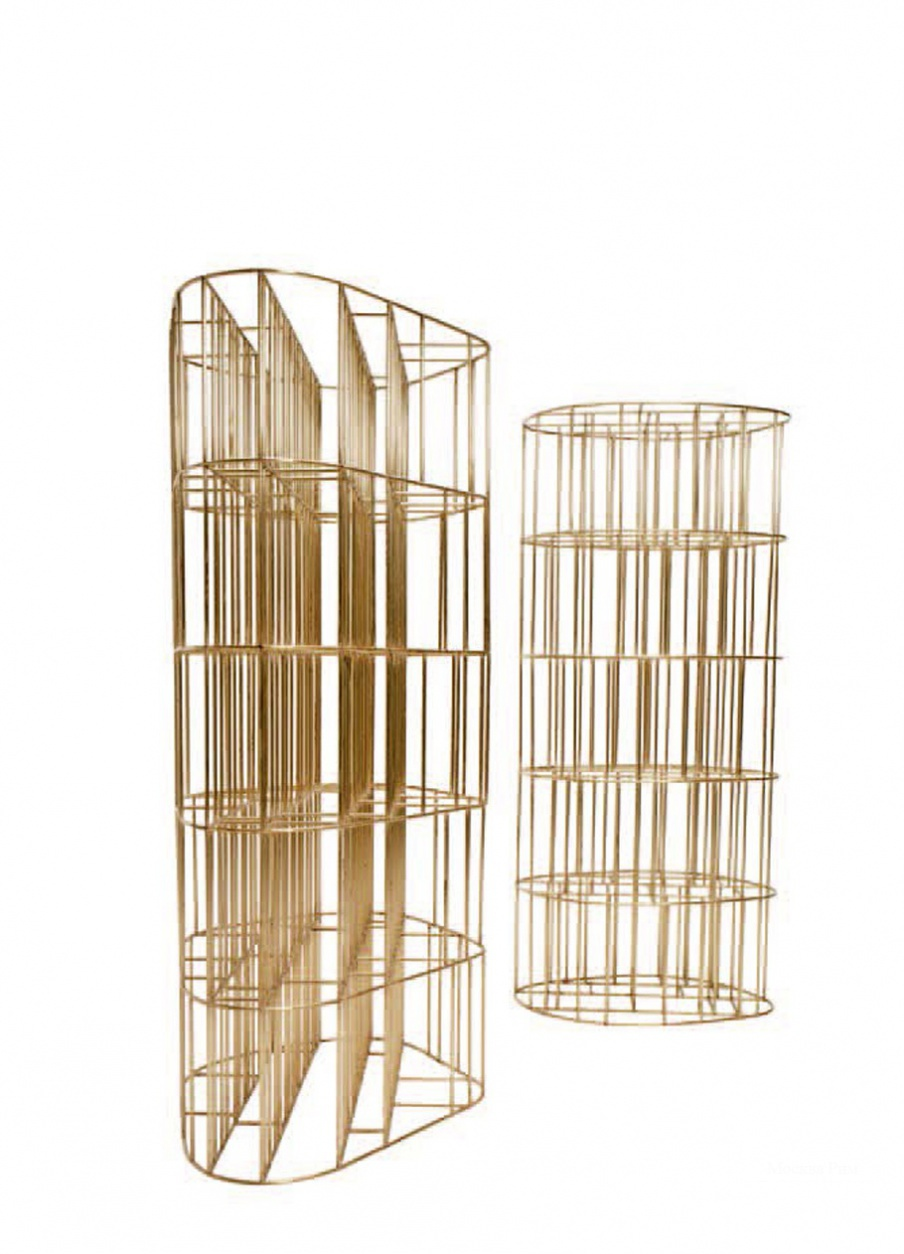 Стеллаж Golden Cage, Ceccotti