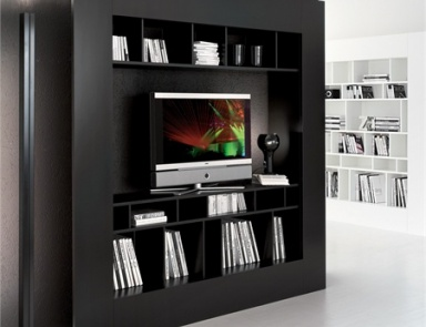 Шкаф книжный Window TV, Cattelan Italia
